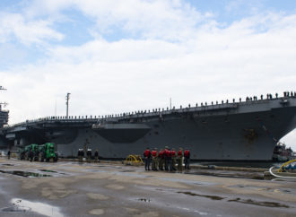 USS Truman Won't be Scrapped Pence Says; CNO Nominee Defends Carrier Retirement