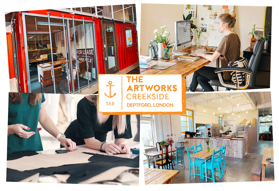 deptford co working and commercial space for let graphic
