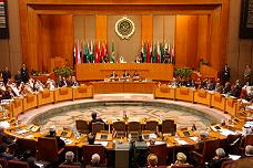 The assembly at the headquarters of Arab League, Cairo, Egypt