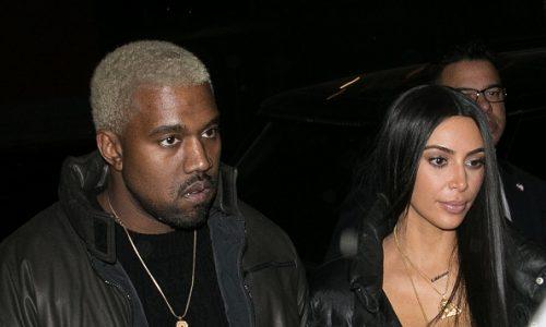 Erstes Familienfoto: Kim Kardashian posiert mit Kanye und ihren drei Kindern