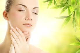 simple face massage