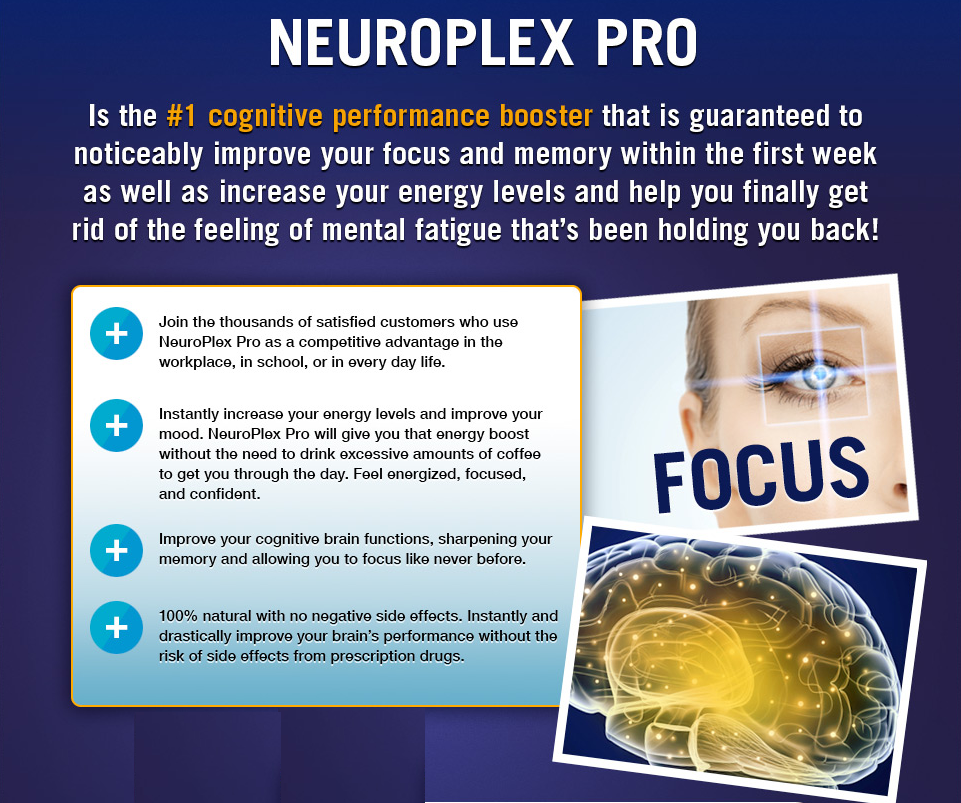 Ingredients of NeuroPlex Pro