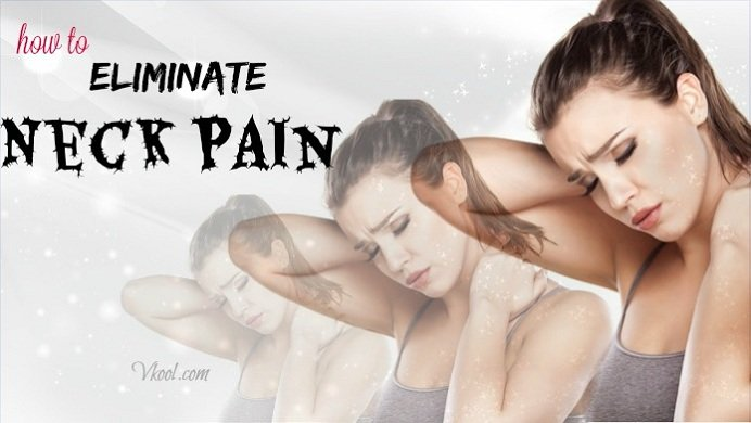 how to eliminate neck pain naturally