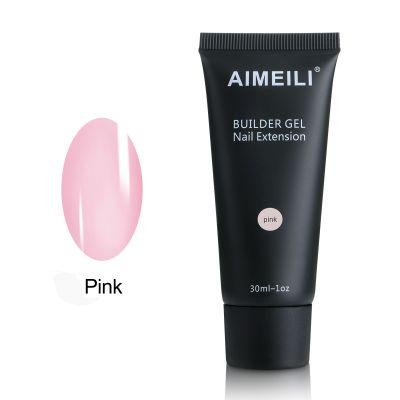 AIMEILI - Pink Builder Gel 30ml 1oz
