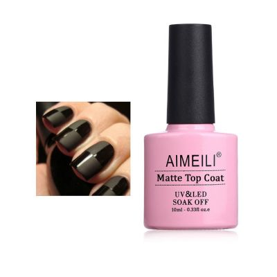 No Wipe Matte Top Coat