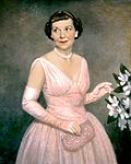 "Mamie Eisenhower in ""First Lady Pink"""