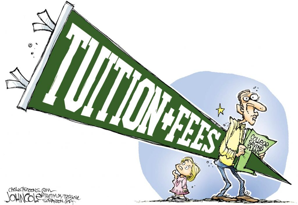 costs of college
