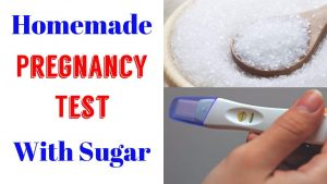 Homemade Pregnancy Tests