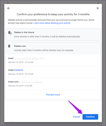 Google Account Data Delete Manually Automatically 3