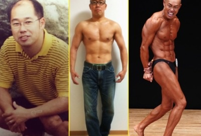 Middle-Aged Japanese Man Transforms Into Handsome Bodybuilder After Wife Left Him.