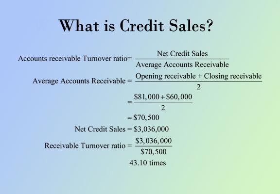 Sales Credit