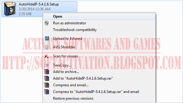 How to Install Patch for Auto Hide IP
