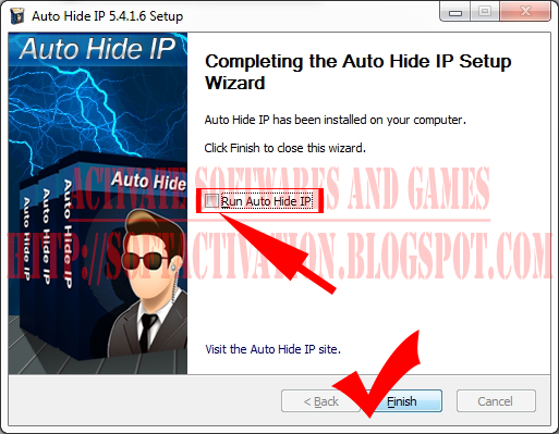 How to install Auto Hide IP 7