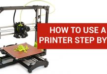 How to Use a 3D Printer Step by Step