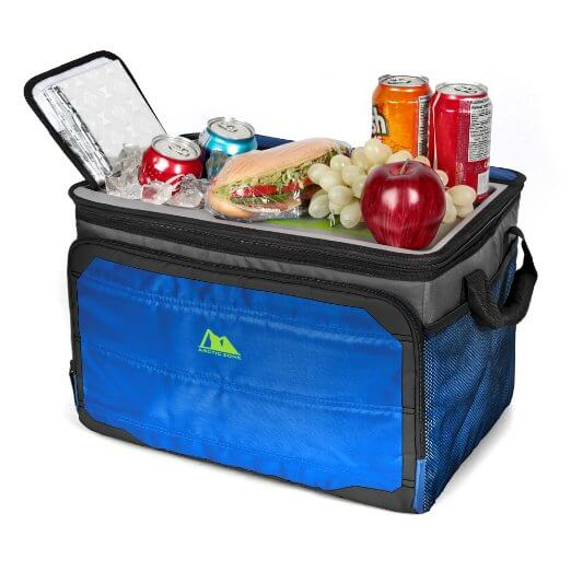 California Innovations Soft Collapsible Cooler Open - best soft ice chests