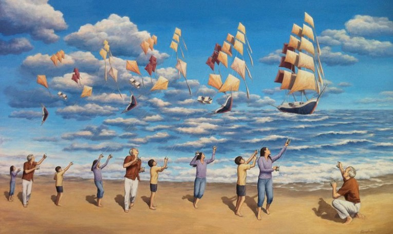 surreal-optical-illusion-paintings-by-rob-gonsalves-1