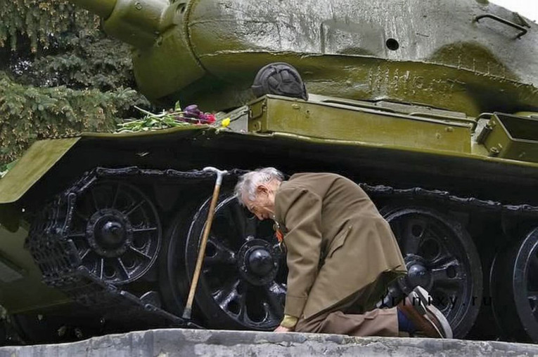 russian war veteran