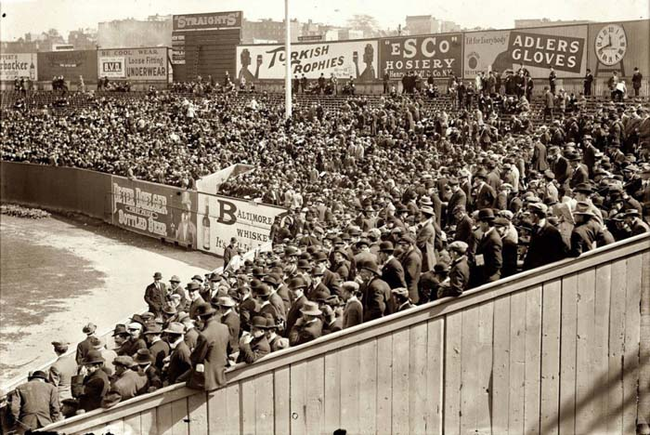 3 - 1912 - The first World Series Game in New York