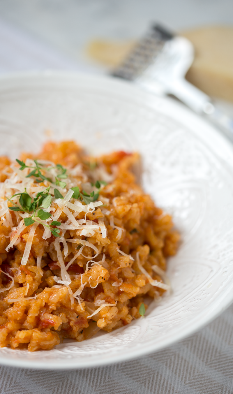 tomato risotto recipe