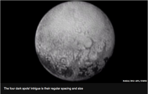 Pluto-Spots