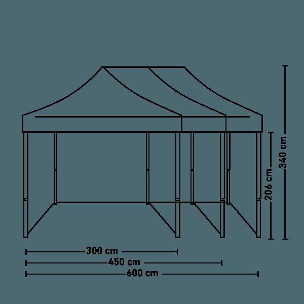 Namioty handlowe wymiary