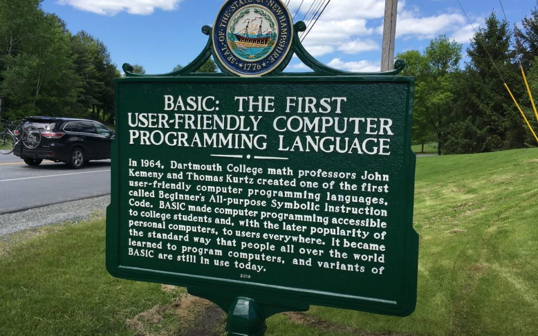 Finally, a historical marker that talks about something important