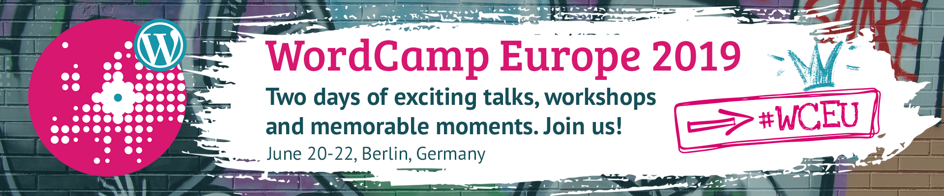 WordCamp EU 2019 in Berlin, Germany