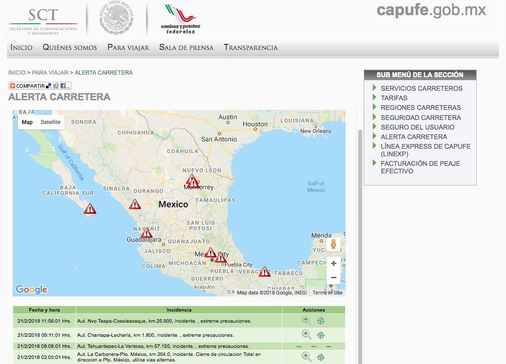 México - CAPUFE