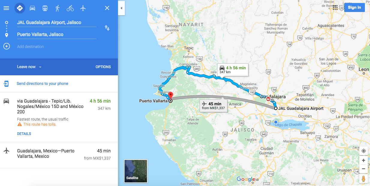 México - Google Maps