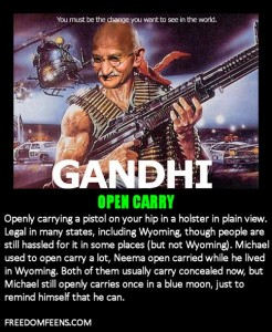 GLOSSARY - OPEN CARRY
