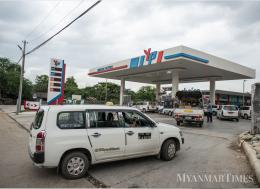 There are three Yangon Petrol stations, in Thaketa, Dagon Seikkan and North Dagon. Photo: Aung Khant/The Myanmar Times