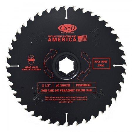 Cuz-D 40-tooth saw blade