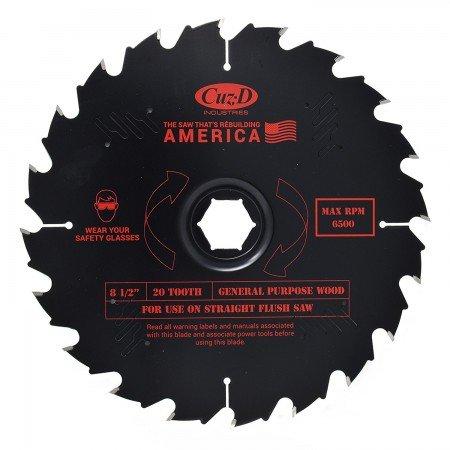 Cuz-D 20-tooth saw blade