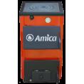 Твердотопливный котел Amica Optima с плитой 18 p кВт