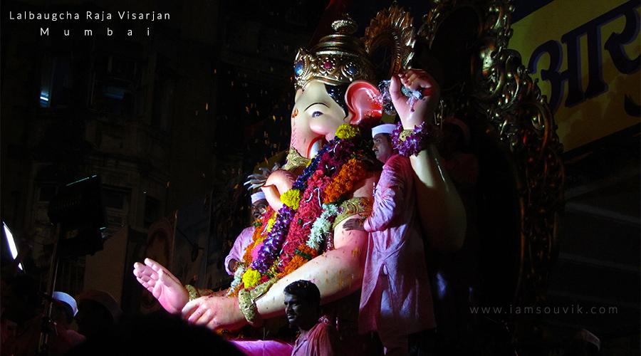 Lalbaucha Raja Visarjan Mumbai_Souvik Dutta