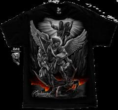 Archangel men's tshirt in black DGA