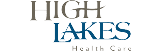 High Lakes Health Care Logo