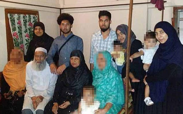 The Mannan family (pictured) from Luton, Bedfordshire, came to the world's attention in May 2015 when 12 of them left the UK to join ISIS in Syria.They are believed to have crossed into the country soon after arriving in neighbouring Turkey on the way home from Bangladesh