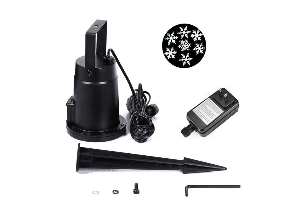 JulyFire Moving Snowflakes Projector Light review