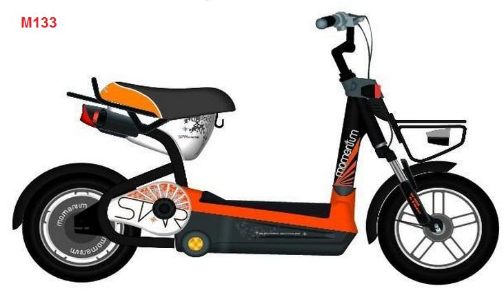 Xe đạp điện Giant Momentim Lafree 133 màu vàng cam
