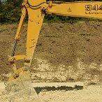 拉铲挖掘机施工