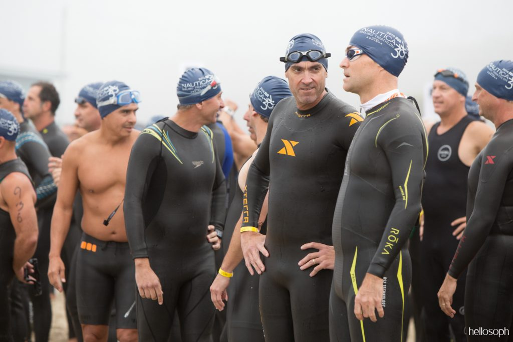 Nautica Malibu Triathlon Swim Start