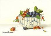 唯美水果搪瓷盆静物画作品欣赏