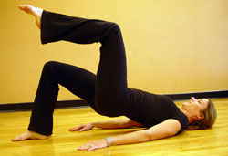 Bridge Pilates Exercise for golfers