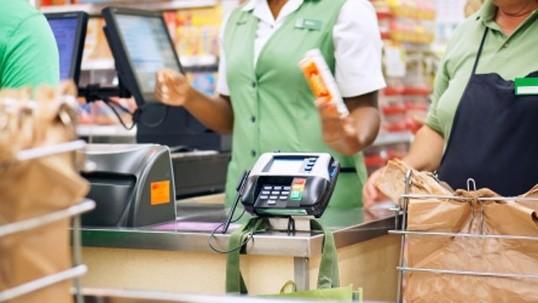 16. Cashier: $18,000, up 3%