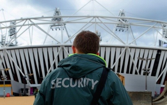 2. Security officer: $24,000, up 7%