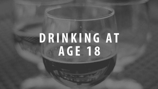 Drinking At Age 18