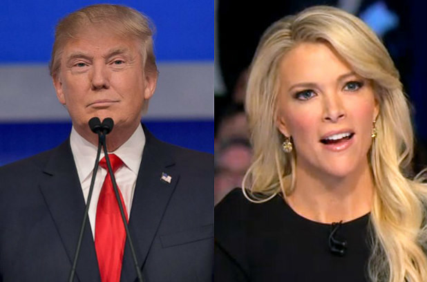 """""""There was blood coming out of her eyes, blood coming out of her wherever."""" - To Megyn Kelly, after she called out Trump for making sexist comments."""