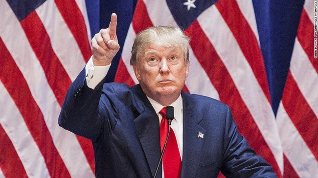 """""""I will build a great wall, and nobody builds walls better than me, believe me, and I'll build them very inexpensively. I will build a great, great wall on our southern border, and I will make Mexico pay for that wall. Mark my words."""""""