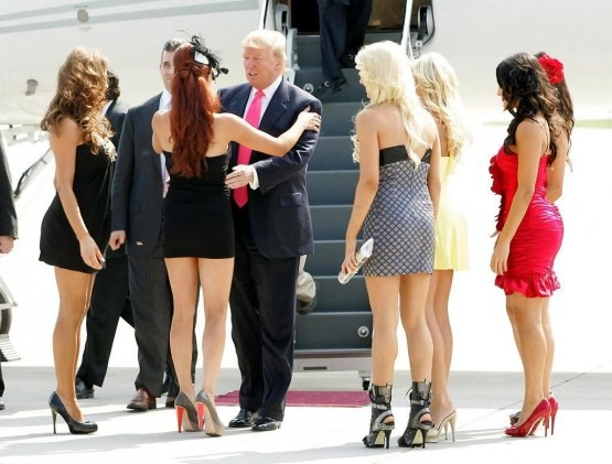 """""""All the women on The Apprentice flirted with me - consciously or unconsciously. That's to be expected."""""""